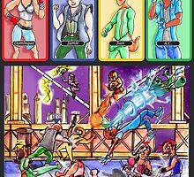 'SolForce: B-Team Brawlers' by ceruleanmocha