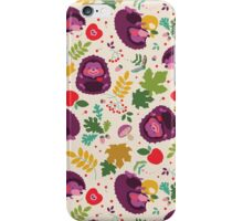 Hedgehog Print iPhone Case/Skin