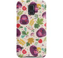 Hedgehog Print Samsung Galaxy Case/Skin