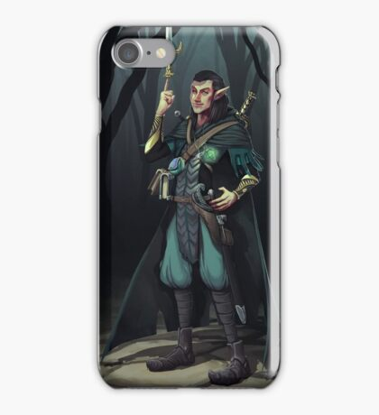 Elven Mage Thief iPhone Case/Skin