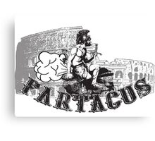 Fartacus - Cool Funny Farting Vintage Fart Champ Shirts Canvas Print