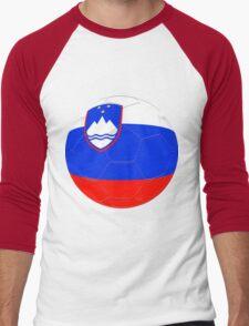Slovenia Men's Baseball ¾ T-Shirt