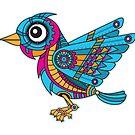 Mechanical Bird by enriquev242