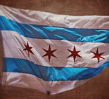 Chicago Flag by Kadwell