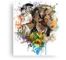 Ephemera III: The Detective and the Blogger Canvas Print