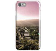 Sunset in Bolzano iPhone Case/Skin