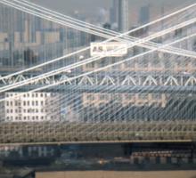 Manhattan & Brooklyn Bridge's > Sticker