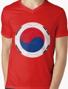 South Korea Mens V-Neck T-Shirt