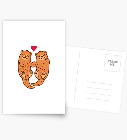 Otterly adorable Greeting Card