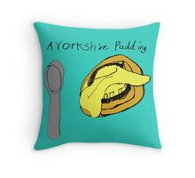 A Yorkshire Pudding. Throw Pillow