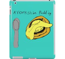 A Yorkshire Pudding. iPad Case/Skin