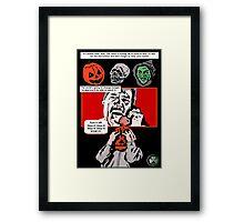Halloween III: Season of the Witch. Framed Print