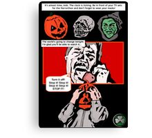 Halloween III: Season of the Witch. Canvas Print
