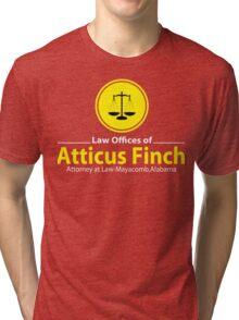 ATTICUS FINCH LAW Tri-blend T-Shirt