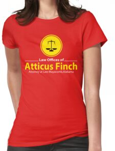 ATTICUS FINCH LAW Womens Fitted T-Shirt
