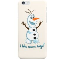 Hi Im Olaf iPhone Case/Skin