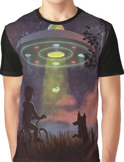 UFO Sighting Graphic T-Shirt