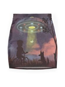 UFO Sighting Mini Skirt