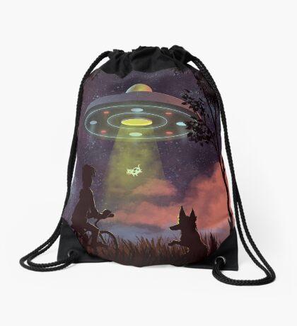 UFO Sighting Drawstring Bag