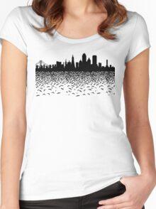 Hidden Gotham Women's Fitted Scoop T-Shirt