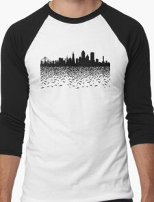 Hidden Gotham Men's Baseball ¾ T-Shirt