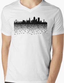Hidden Gotham Mens V-Neck T-Shirt