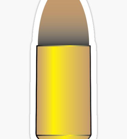 9mm parabellum bullet Sticker