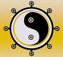 Yin and yang by NirPerel