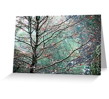 The Aura of Trees Greeting Card