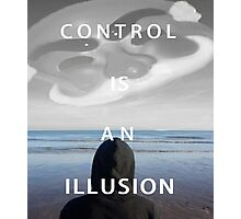 Mr. Robot - Control Is An Illusion Photographic Print