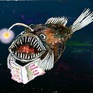 Angler Fish reads Love Stories in the Deep by didielicious
