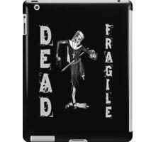 Nun Zombie - DEAD FRAGILE iPad Case/Skin