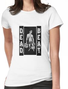 Zombie DJ - DEAD BEAT Womens Fitted T-Shirt