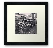Motorcycle 324One Framed Print