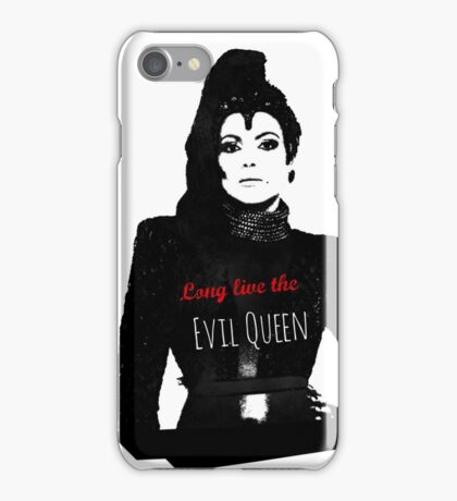 LONG LIVE THE EVIL QUEEN iPhone Case/Skin
