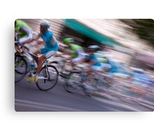 Cycle Race Canvas Print