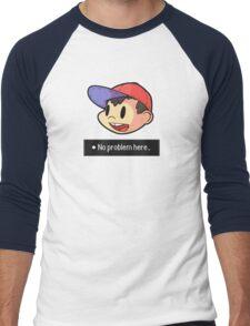 No problem here! - Text Version Men's Baseball ¾ T-Shirt