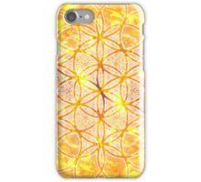 Sacred Geometry Flower of Life Sun Glow iPhone Case/Skin