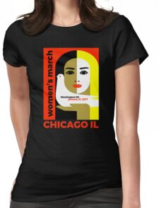 Women's March on Washington 2017, Chicago Illinois Womens Fitted T-Shirt