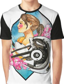 Chell & GLaDOS Graphic T-Shirt