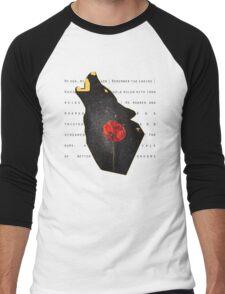 Omnis Vir Lupus Men's Baseball ¾ T-Shirt