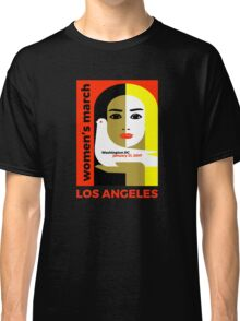 Women's March on Washington 2017, Los Angeles Classic T-Shirt