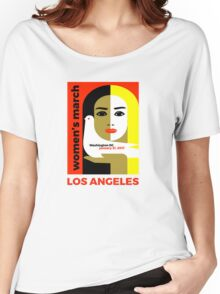 Women's March on Washington 2017, Los Angeles Women's Relaxed Fit T-Shirt