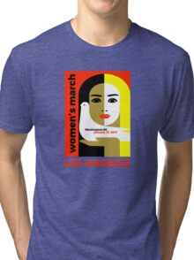 Women's March on Washington 2017, Los Angeles Tri-blend T-Shirt