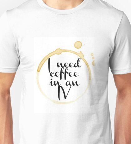 Gilmore Girls Coffee Quote Unisex T-Shirt