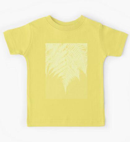 Concrete Fern Yellow Kids Clothes