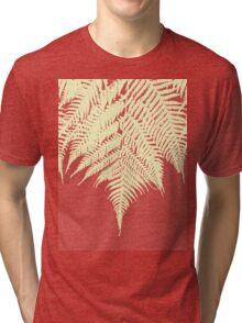 Concrete Fern Yellow Tri-blend T-Shirt