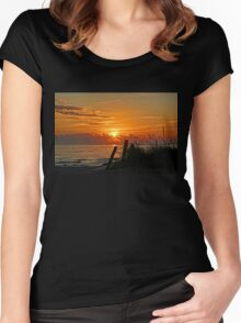 Days End Women's Fitted Scoop T-Shirt
