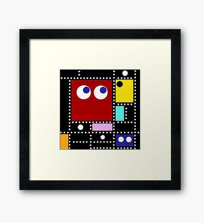 Pac Mondrian Framed Print