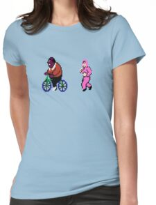 Punch Out Training Womens Fitted T-Shirt
